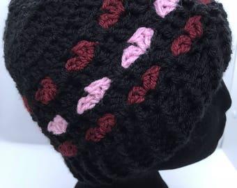 Love Heart Hat Pattern