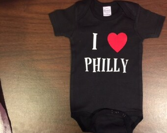 infant Philadelphia baby shirt, Philadelphia one piece, Philadelphia baby bodysuit, born in philadelphia baby boy, philadelphia baby girl