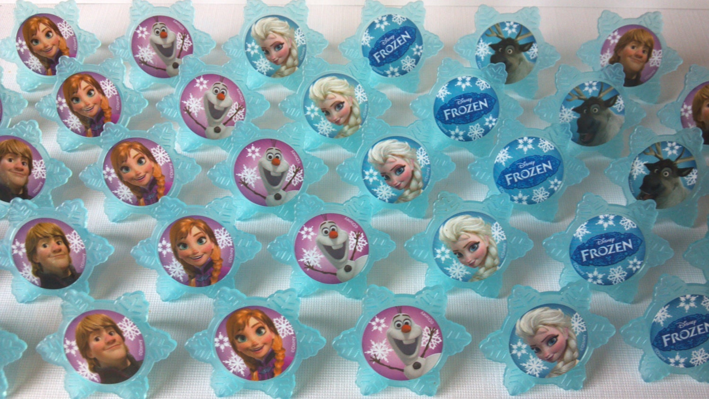 Disney Frozen Cake Toppers Decoration Set