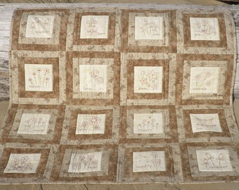How Does My Garden Grow Lap Quilt