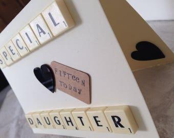 Handmade - Birthday Card - Daughter Card - Celebration