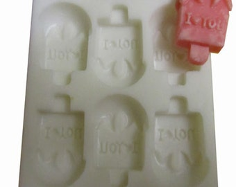 I love You Silicone Mould For Wax Melts or Soap