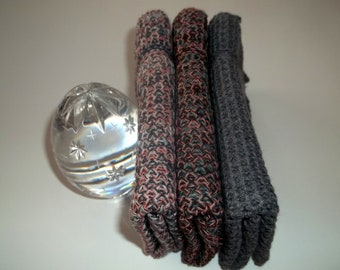 Dishcloths Knit in Cotton, Dish Cloth, Wash Cloth, Kitchen, Cotton Dishcloth