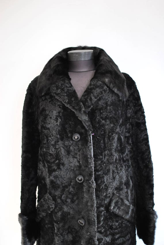 women's with 514 LAMB fur fur Fox elegant coat COAT FUR Vintage collar qTwRtR0A