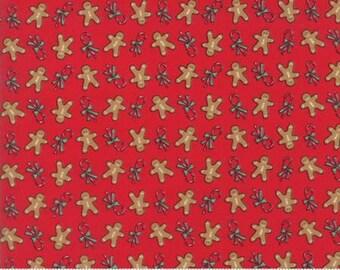 Sugar Plum Christmas Candy Red 2914 11 - Moda Fabrics 100% Cotton Quilting Fabric Bunny Hill Designs