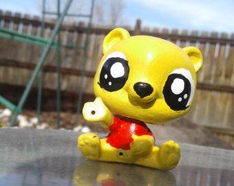 OOAK Littlest Pet Shop Custom Winnie the Pooh fan Art