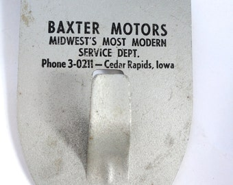 Baxter Motors Visor Clip on Hook