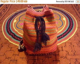 Small Backpack Purse - Wool (Peru)