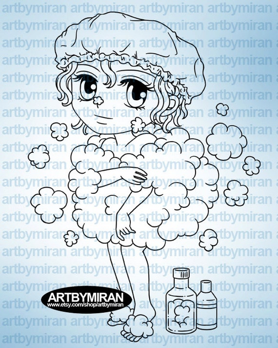 Digital Stamp Buffie238 Digi Coloring Page