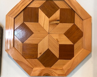 Douglas Fir Star Wall Plaque