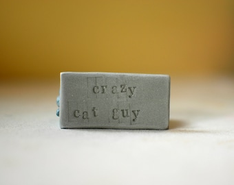 Crazy Cat Guy // Gifts for Cat Lovers