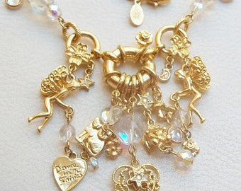 Kirks Folly Charm Necklace