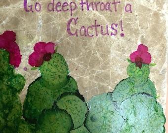 Cactus insult