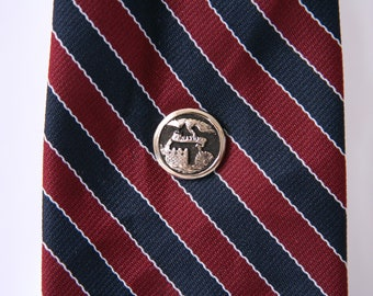 Essayons Tie Tack US Army Corps of Engineers Lapel Pin - made with a button