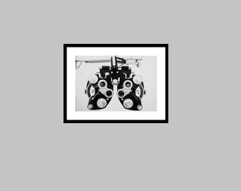 Phoropter Photography, Optometry Photography Print, Optometrist Photography, Optometry Office Decor