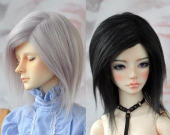 """BJD wig - long mohair - 6-7"""", 7-8"""", 8-9"""", 9-10"""" (faux fur)"""