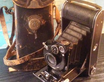 Antique Cocarette Contessa Nettel Folding Camera