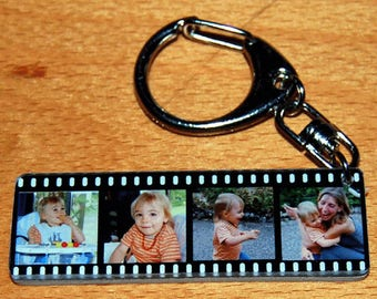 WRAP keychains personalized with 4 pictures