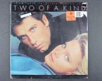 1982 Unopened Sealed Lp Record Album 1982 Two of a Kind movie soundtrack.  ARTIST-  Olivia Newton-John John Travolta  DETAILS:  MCA Records