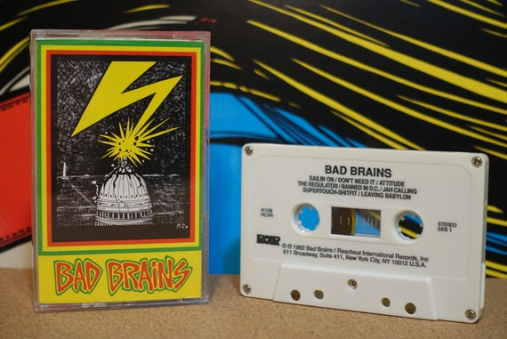 Bad Brains by Bad Brains Vintage Cassette Tape