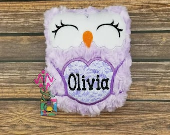 Personalized owl etsy personalized stuffed owl animal baby gift personalized owl owl with name soft negle Choice Image