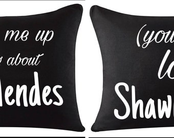 Customizable Shawn Mendes Pillowcase