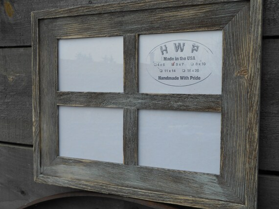 Rustic Barn Board Window Frame Handmade Handcrafted Barn Wood ...