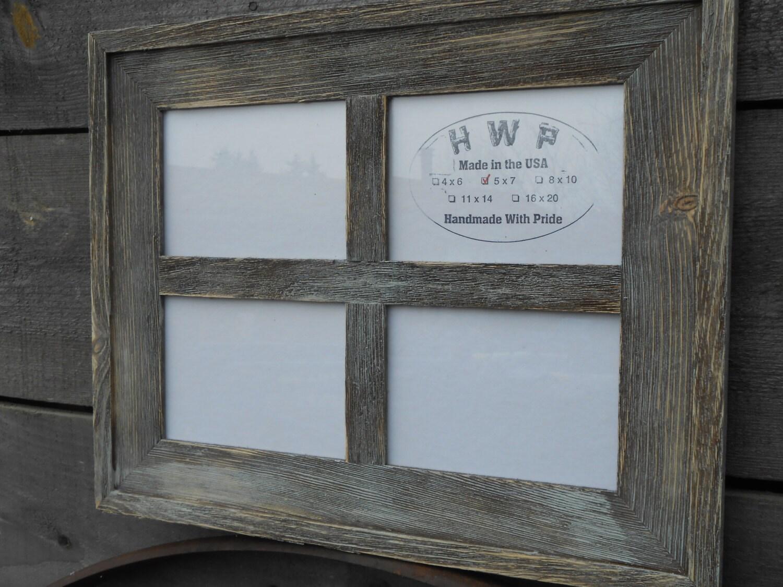 Rustic barn board window frame handmade handcrafted barn wood 4999 jeuxipadfo Images
