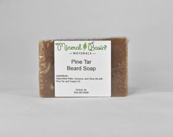 Square Pine Tar Soap