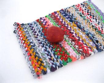 BROOKLYN  rag weaving TaBLE RuG  Placemat