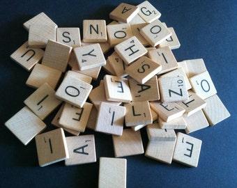 Pick Your Letters, Individual Scrabble Tiles, Choose Your Tiles