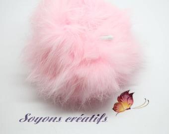Beautiful tassel Angora 8cm - pink - SC0080835 - sewing - jewelry