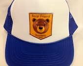 Youth Trucker Hat- with Bear Patch- Kids Trucker Hat