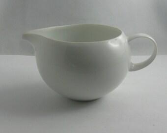 "Rosenthal Germany. Porcelain creamer / milk jug ""The Magic Flute"". Design: Bjorn Wiinblad. VINTAGE"