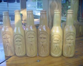 wood spirit, greenman, tree spirit wood carving