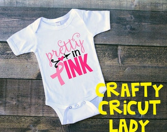Pretty in Pink Breast Cancer awareness Onsie