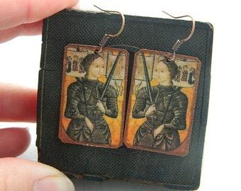 Saint Jewelry Saint Earrings Saint Joan of Arc
