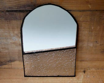 Tiffany geometric mirror