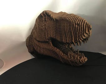 T-Rex 3-D Head, Dino, Dinosaur, Tyrannosaurus Rex