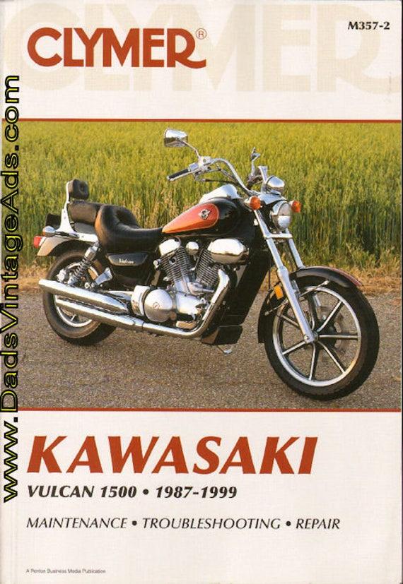 1987-1999 Kawasaki Vulcan 1500 Cymer Motorcycle Repair Manual M357-2 #mm103