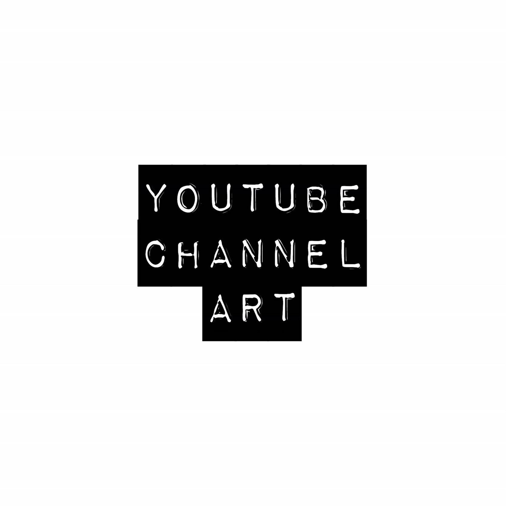 Benutzerdefinierte Youtube-Banner / Kanal Kunst