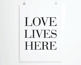Inspirational quotes, quote prints, quote posters, happy art, typography poster, positive quotes, Love Poster, Love Art Print