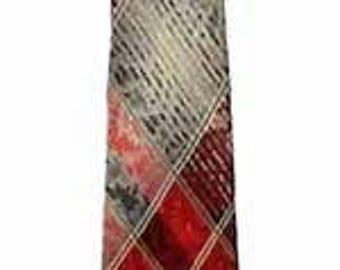 Vintage 1950s Red Tie