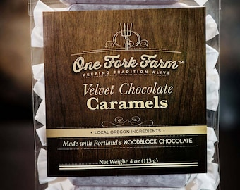 Velvet Chocolate Caramels - 4oz