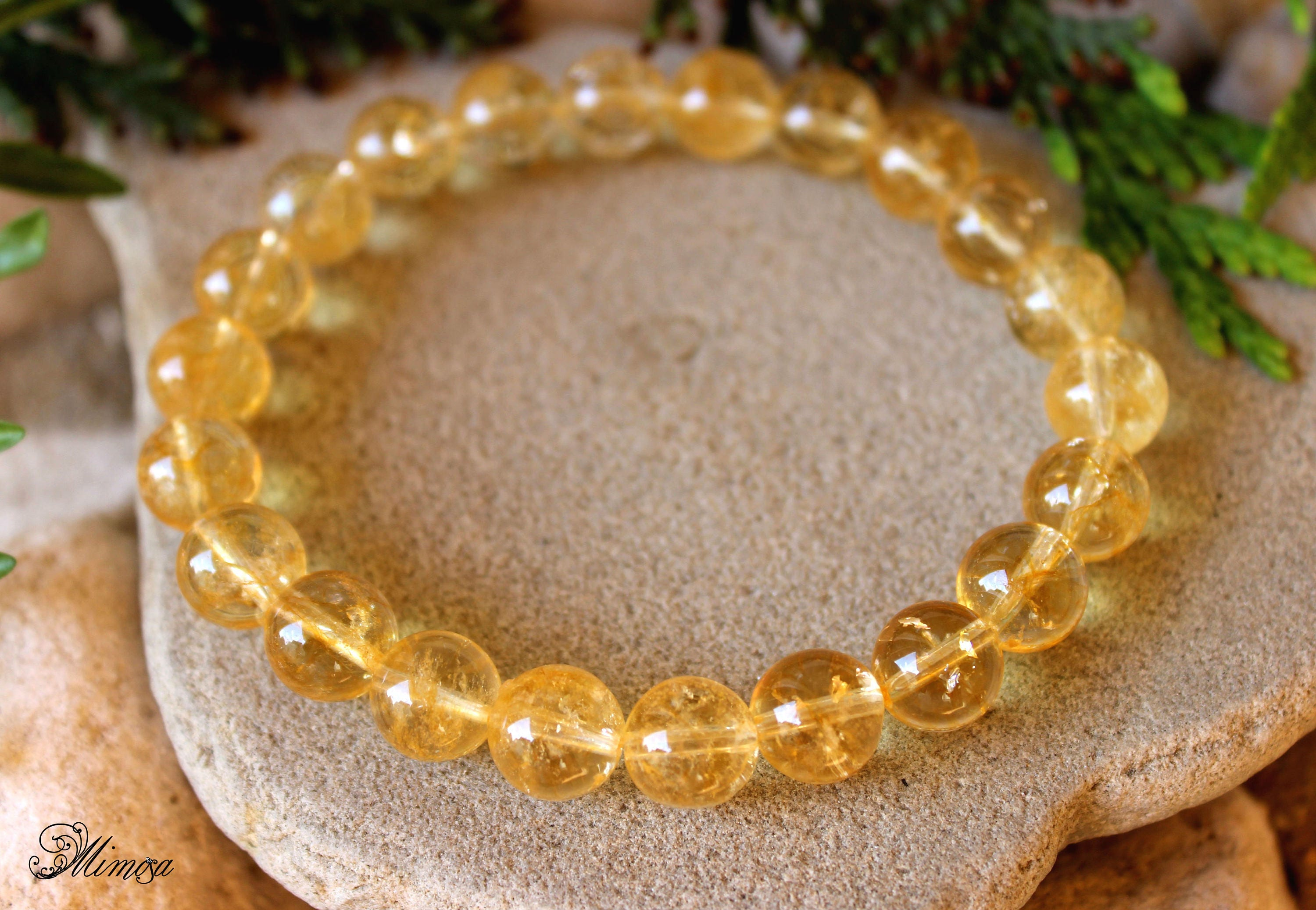bracelet cieslicki products double citrine by lemon barbara