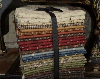 """Fabric: Bundle FQ 25pc from """"Kindred Spirits"""" by Windham Fabrics"""