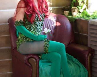 poison ivy, cosplay, feminine, costume fully