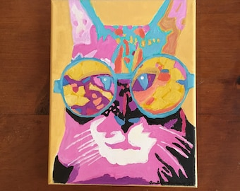 Funky Cat (Made to Order)