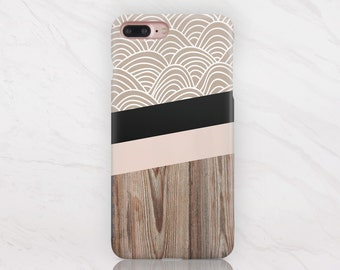 Wood iPhone Case iPhone X Case iPhone 8 Plus Case iPhone 7 Case iPhone 8 Case iPhone 7 Plus Case Samsung Galaxy S8 Case Samsung S7 3 RD1417