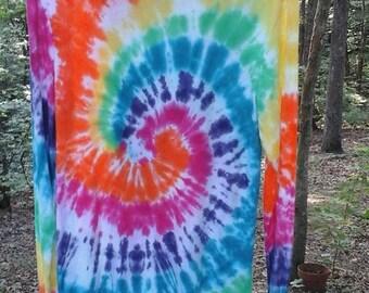 Unisex Rainbow Spiral Hoodies